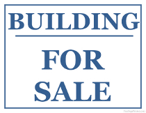 Building For Sale Sign