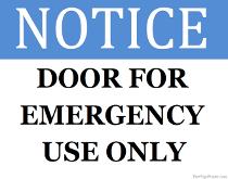 Printabale Door Signs Print Door Signs