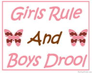Printable Boys and Girls Signs