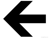 Gorgeous image in printable arrow signs