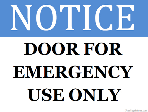 printable door signs