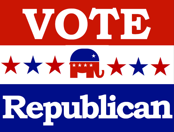 printable vote republican sign