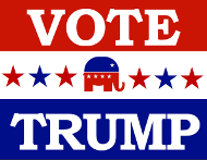 Vote for Trump Sign